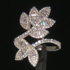 WOW! Diamond Simulants Ring